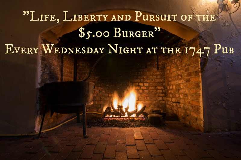$5 Burger Night at Reynolds Tavern
