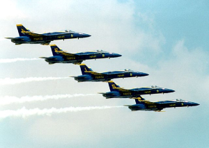 Blue Angels Practice Cruise
