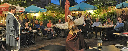 Annapolis Shakespeare Company's 'COMEDY IN THE COURTYARD'