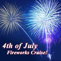 Firework Cruise on Schooner Woodwind