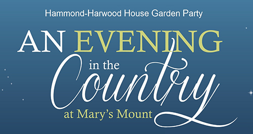 An Evening in the Country at Mary's Mount