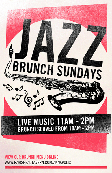 Jazz Brunch at Rams Head Tavern