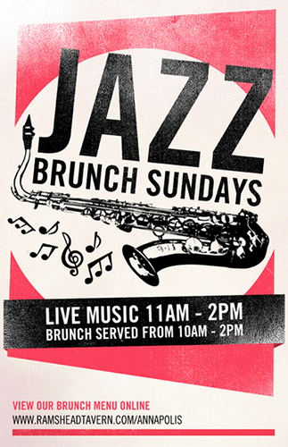 Jazz Brunch at Rams Head Tavern
