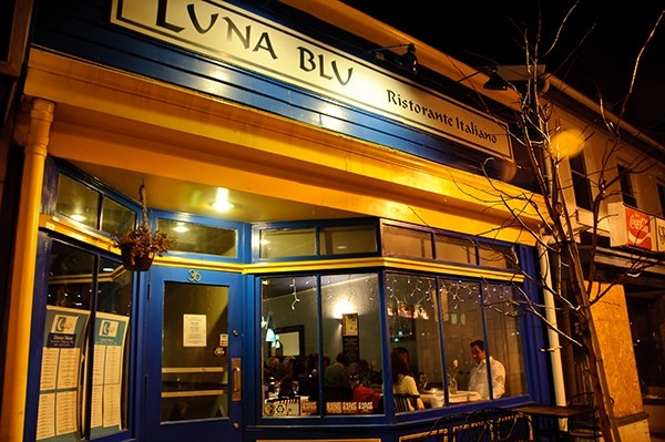 Charity Wine Dinner at Luna Blu