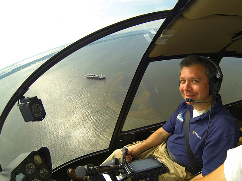 Fly the Chesapeake Bay with Monumental