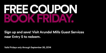 Free Coupon Book Fridays